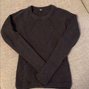 Gray Lululemon cover up sweater